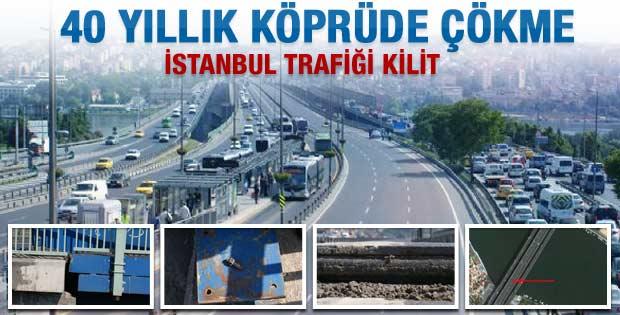 Haliç Köprüsü trafiğe kapatıldı