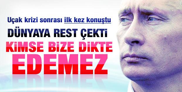Putin'den Türkiye ve Batı'ya silah resti