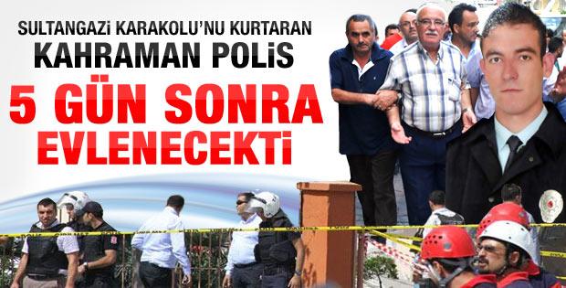 Sultangazi karakolunu kahraman polis kurtardı