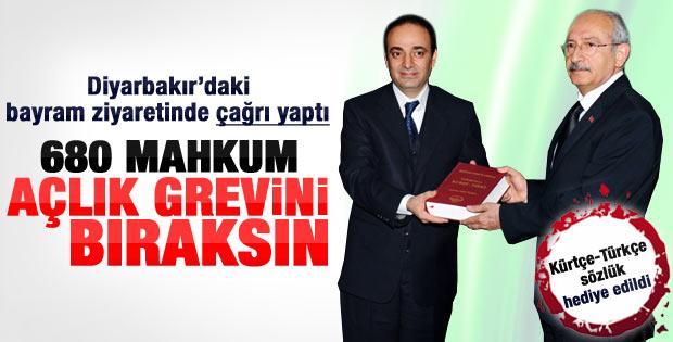 Kılıçdaroğlu'ndan Osman Baydemir'e bayram ziyareti