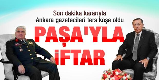 Erdoğan Necdet Özel'in evinde iftar yaptı