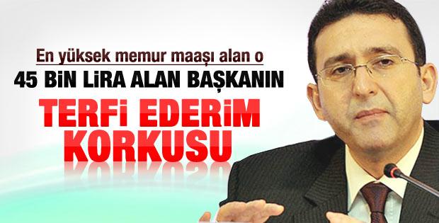 İMKB başkanı Turhan'ın ya terfi edersem korkusu