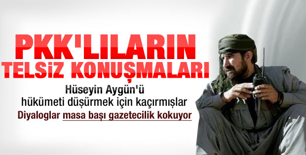 PKK: Bu eylemle hükümeti düşürürüz