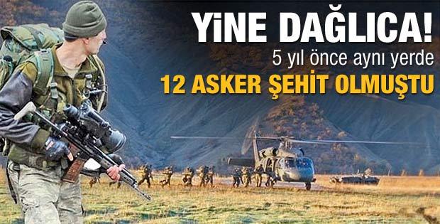 PKK 5 yıl sonra aynı noktaya saldırdı