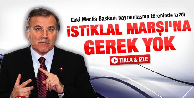 Mehmet Ali Şahin'den İstiklal Marşı eleştirisi - Video