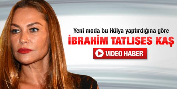 Hülya Avşar'ın estetiği beğenilmedi