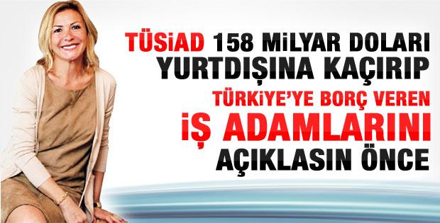 Süleyman Yaşar: TÜSİAD 158 milyar doları açıklasın