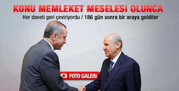 Erdoğan ve Bahçeli'nin Suriye zirvesi