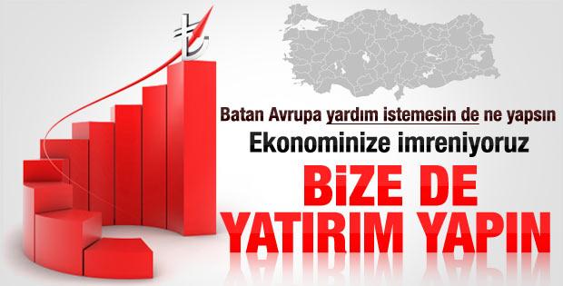Fransa'dan Türkiye'ye: Bize yatırım yapın