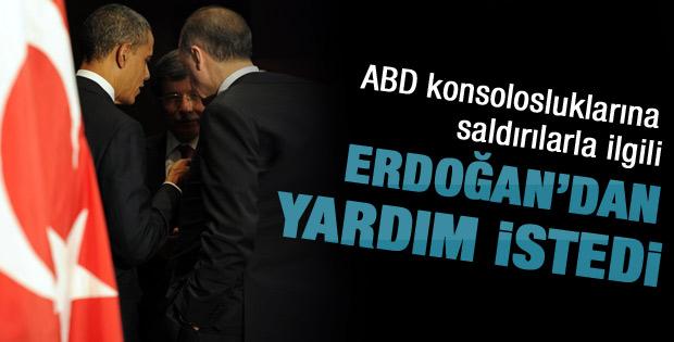 Obama Erdoğan'dan yardım istedi