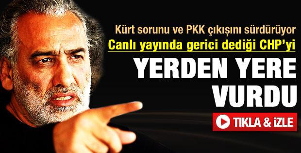 Sinan Çetin'den CHP'ye ağır sözler - Video