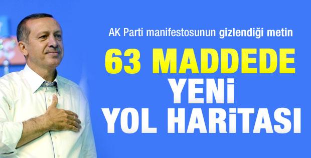 AK Parti'nin yeni yol haritası