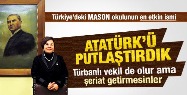 Lions üyesi Sebük: Atatürk'ü putlaştırdık