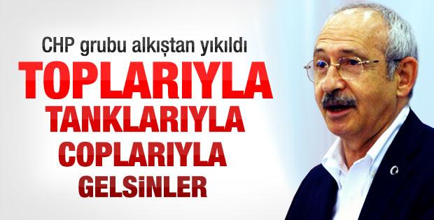 Kemal Kılıçdaroğlu'nun son grup konuşması