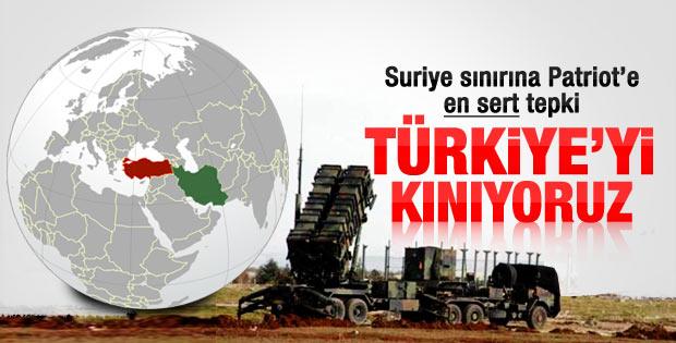 İran'dan da Türkiye'nin istediği Patriotlara tepki