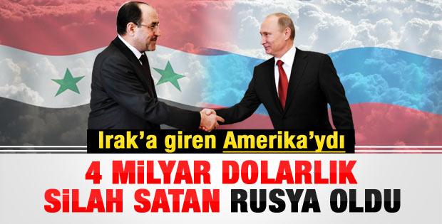 Rusya'dan Irak'a milyar dolarlık silah satışı