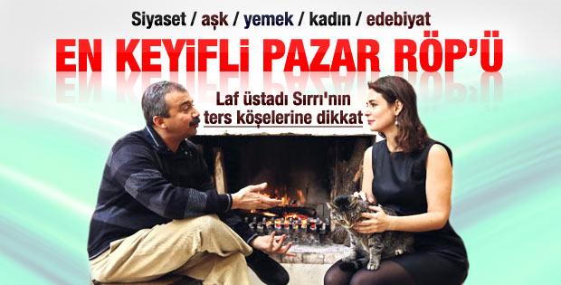 Sırrı Süreyya Önder'in Pelin Batu'yla pazar röportajı