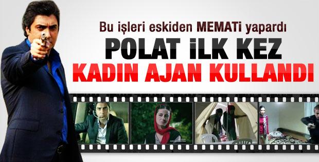 Polat kamp baskınında kadın ajanları kullandı