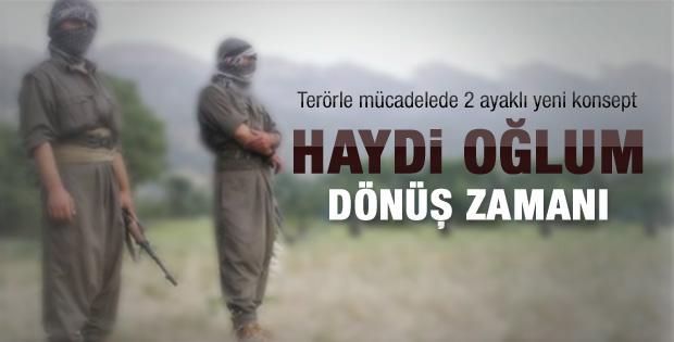 PKK'lıya anneden eve dön çağrısı