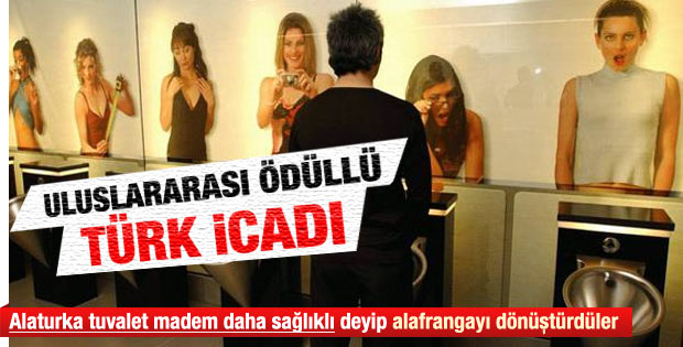 Türk icadı uluslararası ödüllü tuvalet