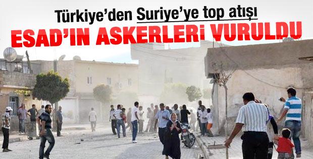Türkiye'nin top ateşinde Suriyeli askerler öldü