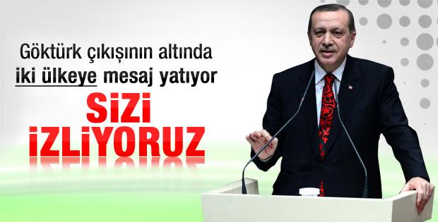 Erdoğan'dan hem İsrail hem de Rumlar'a Göktürk mesajı