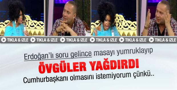 Bülent Ersoy'dan Erdoğan'a övgü dolu sözler - izle