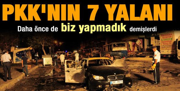PKK daha önce de inkar etmişti