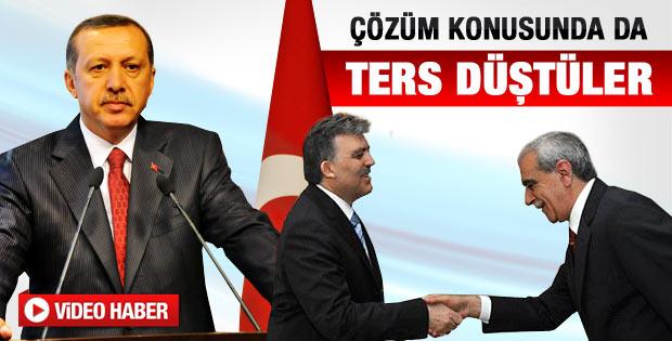 Başbakan Erdoğan ve Gül bir kez daha ters düştü
