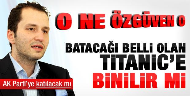 Fatih Erbakan'dan AK Parti'ye sert yanıt