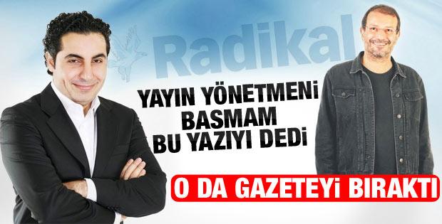 Yıldırım Türker Radikal'den ayrıldı