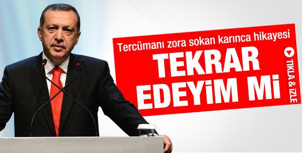 Başbakan Erdoğan'ın İstanbul Küresel Forumu konuşması