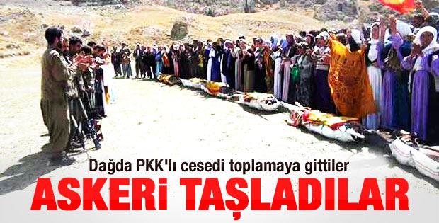 Öldürülen PKK'lıların cenazeleri böyle teslim edildi