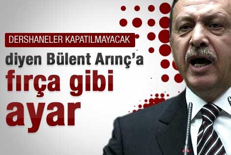 Erdoğan'dan Bülent Arınç'ı zora sokacak çıkış