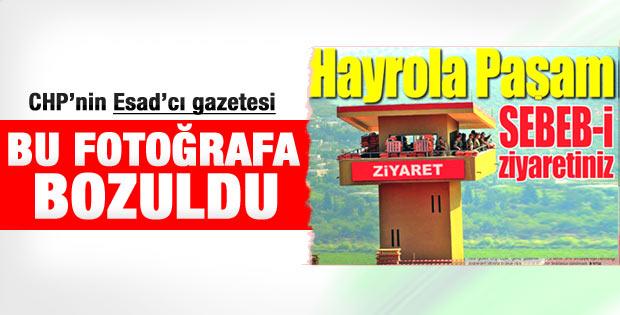 Yurt Gazetesi'nin Özel ve Suriye manşeti