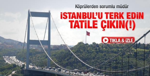 Karayolları Genel Müdürü: İstanbul'u terk edin