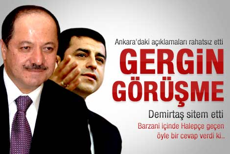 Demirtaş ile Barzani ne konuştu
