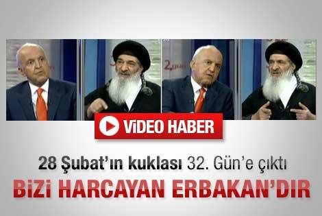 Müslüm Gündüz: Erbakan bizi harcadı - Video