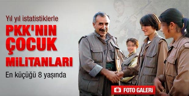 Çocuk PKK'lılar ABD raporuna girdi