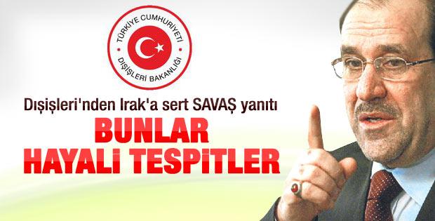 Ankara'dan Maliki'ye cevap