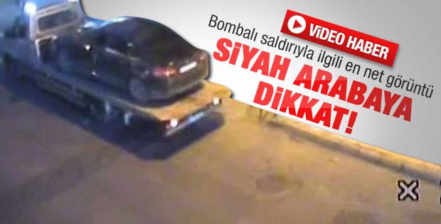 Bombalı saldırıda kullanılan aracın net görüntüsü - video