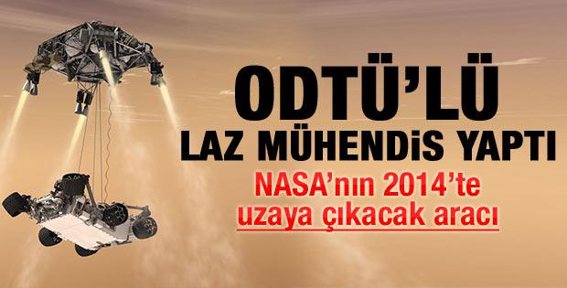 Mars'a giden NASA aracına Rizeli eli de değdi