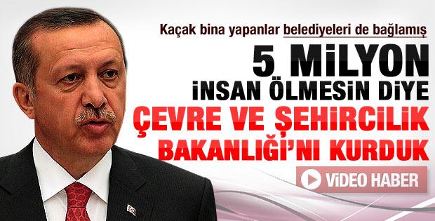 Erdoğan'dan belediyelere imar izni tepkisi