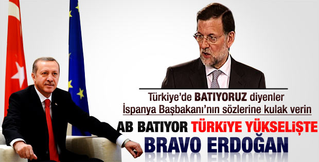Erdoğan'ın İspanya'daki basın toplantısı