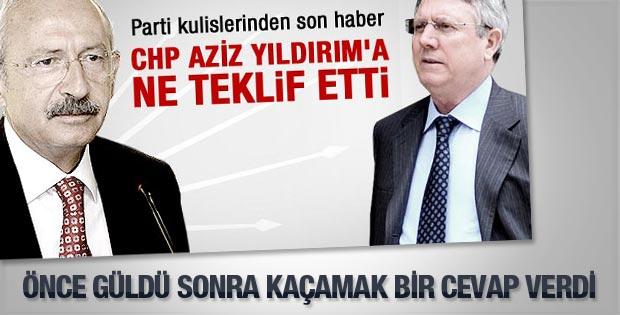Kılıçdaroğlu'na Aziz Yıldırım iddiası soruldu
