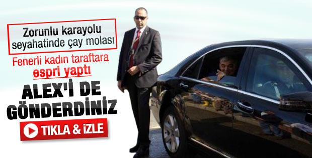 Abdullah Gül'den Alex esprisi