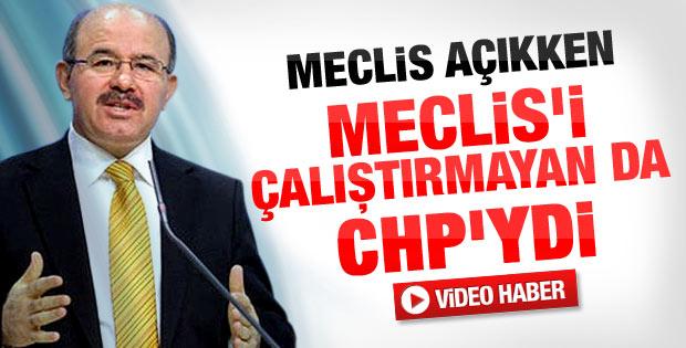Hüseyin Çelik'ten CHP'ye Meclis tepkisi - izle