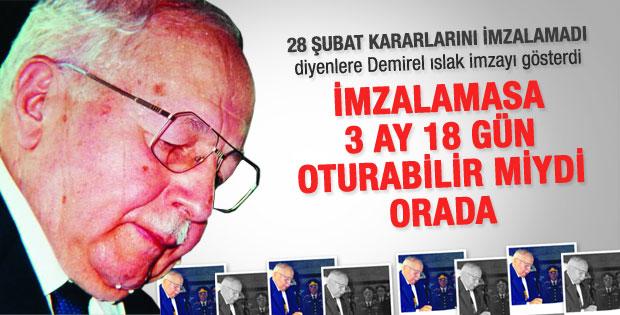 Demirel'le AK Partililer arasında 28 Şubat tartışması