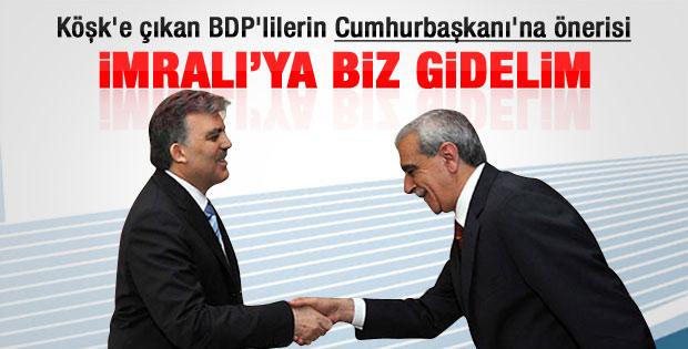 BDP: İmralı ile biz görüşelim