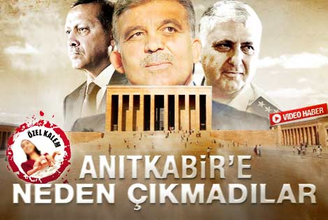 Gül-Erdoğan-Özel Anıtkabir'e neden çıkmadı